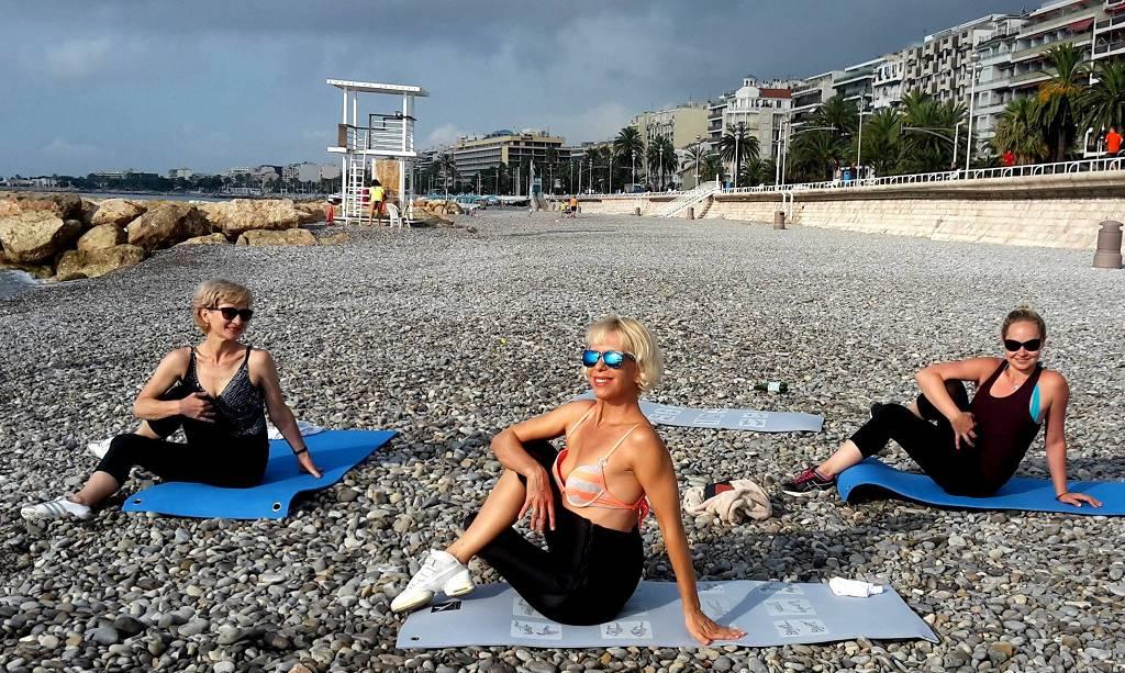 cote-d-azur-nice-bodyflex-on-beach
